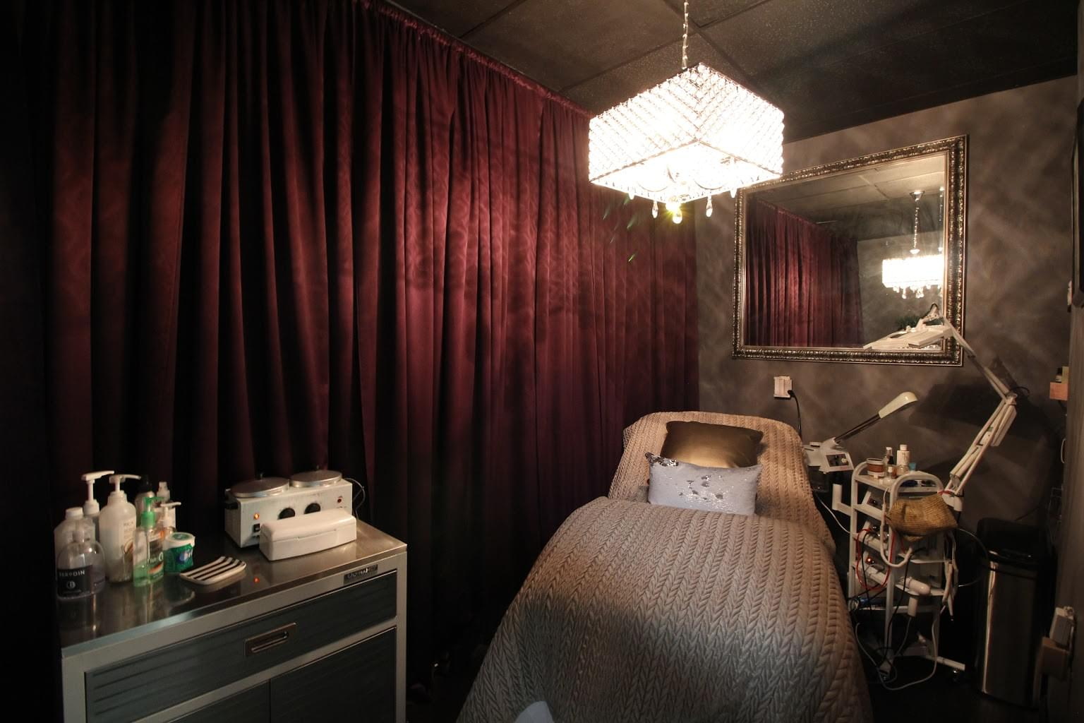 Coco Miyagi Hair Salon Cherry Hill NJ waxing room