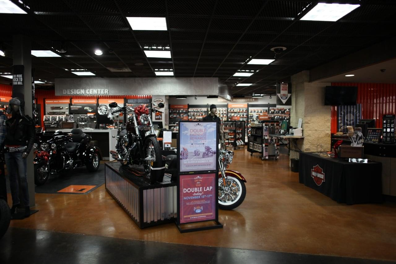 Motorcycle Dealership Interior Google Business View