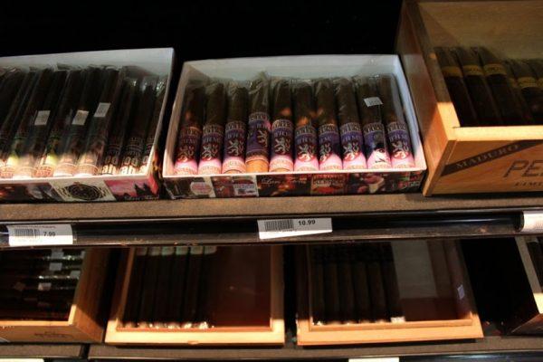 Hops & Grapes Cigar Selection