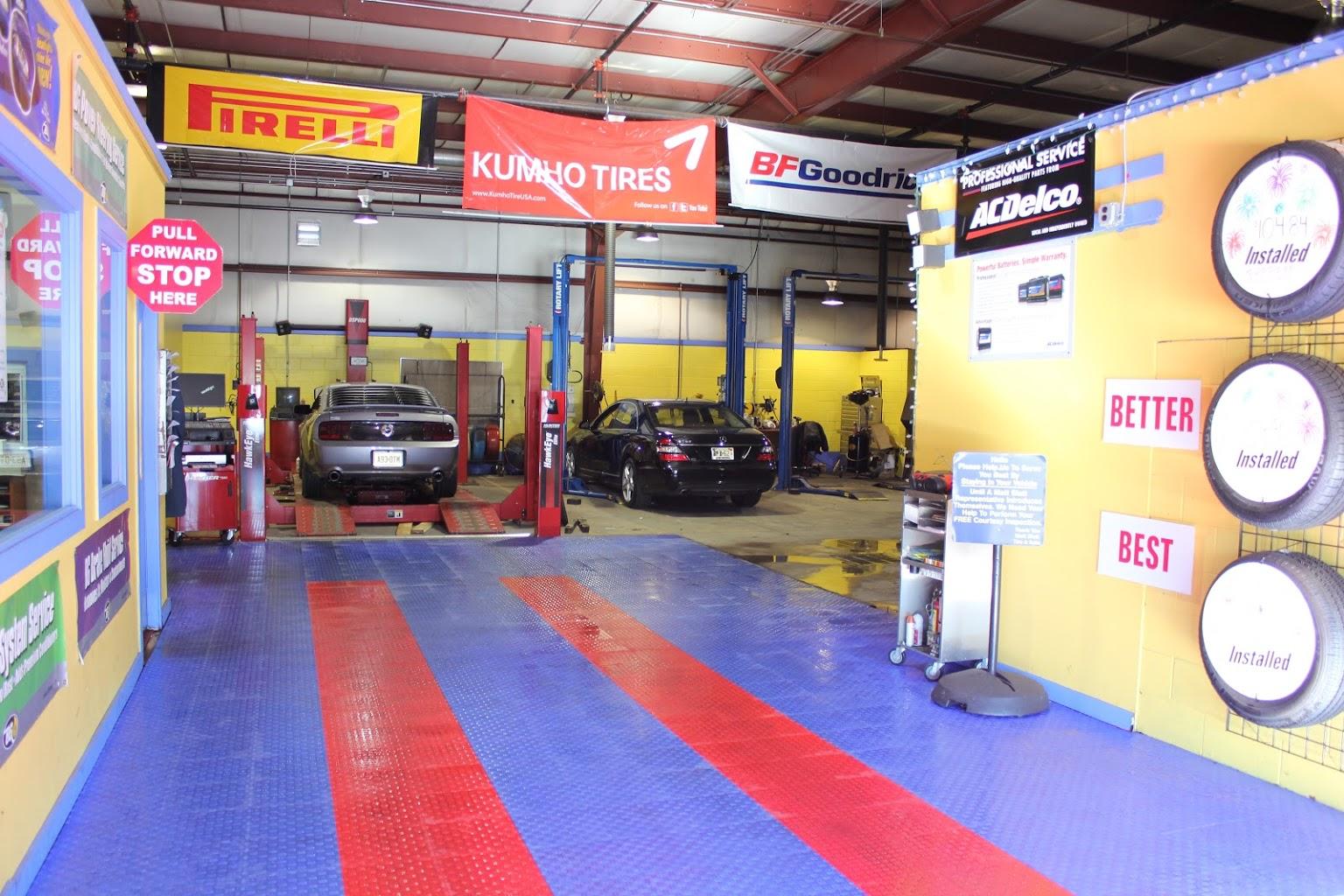 car repair garage Matt Blatt Tire and Auto Repair Glassboro NJ