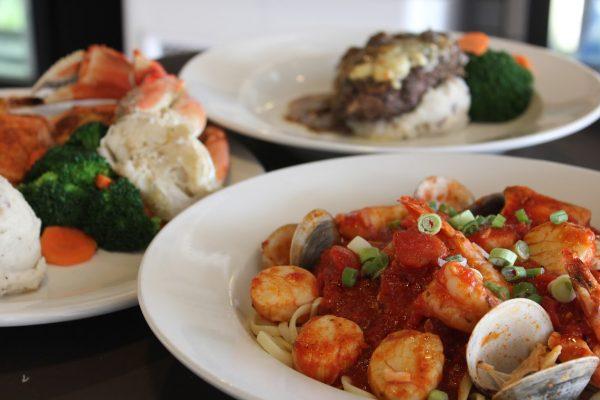 platted food Little Tuna Seafood Restaurant, Haddonfield, NJ