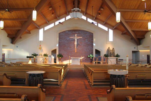 sanctuary catholic Church of the Incarnation Mantua, NJ