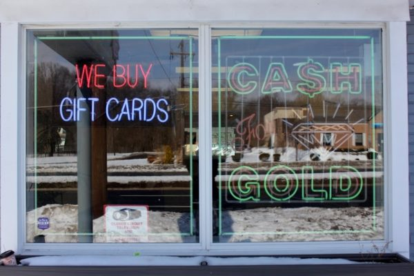 Cash for Gold in Cherry HIll New Jersey Window Promotion