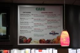 Club Metro Marlton NJ Cafe Menu