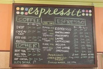 Espressit Coffee House Menu