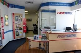 Fast Signs Cherry HIll New Jersey Front Desk