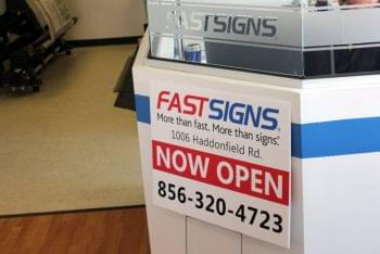 Fast Signs Cherry HIll New Jersey Sign Example