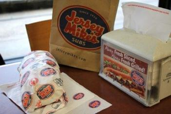 Jersey Mike's Subs Sandwich