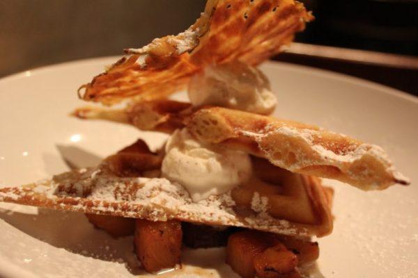 Keg&Kitchen Westmont NJ waffle dessert