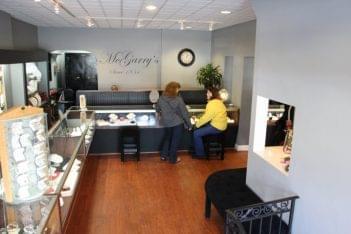 Mcgarry's Jewelers floor in Collingswood