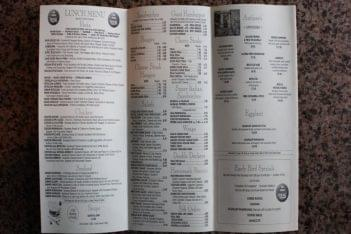 Michaelangelo's in Cherry Hill NJ Menu