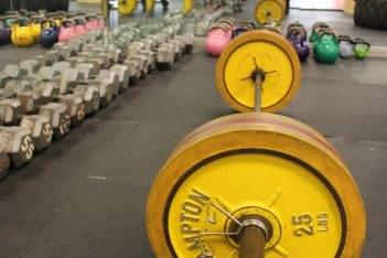 Mission MMA Haddon Township NJ  weight room