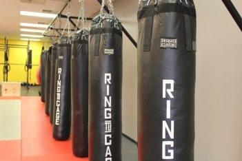 Mission MMA Haddon Township NJ  mized martial arts punching bags