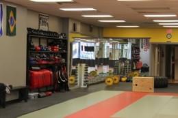 Mission MMA Haddon Township NJ mixed martial arts training room