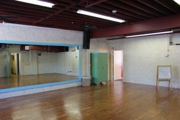 Performance dance studio interior picture in Riverton NJ