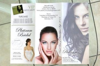Platinum Hair Design Brochure Cherry Hill NJ