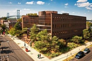 Rutgers University in Camden NJ, See Inside outside shot