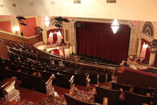 The Broadway Theatre of Pitman New Jersey Upper Seating