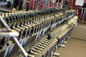Club Metro Old Bridge Township NJ Free Weights