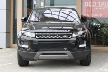 Front of a black Range Rover