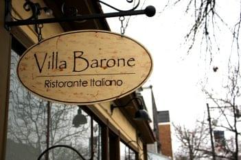 Villa Barone Collingswood NJ Signage