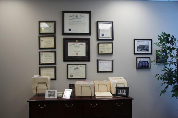 diplomas Steven A Traub, Esq. Attorney at Law Lawyer, Cherry Hill, NJ
