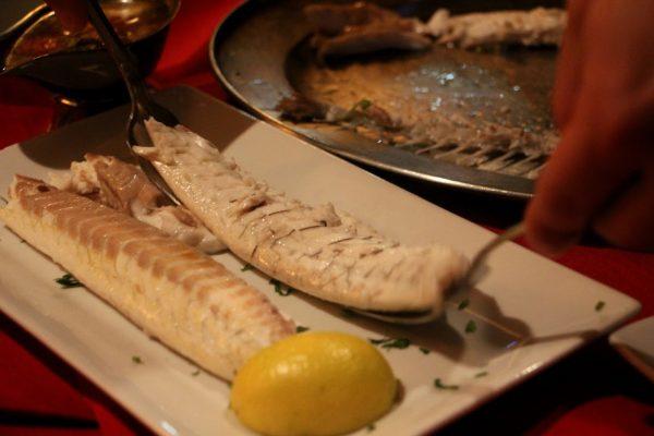fillet fish Pasta Vino Italian Restaurant, Berlin, NJ