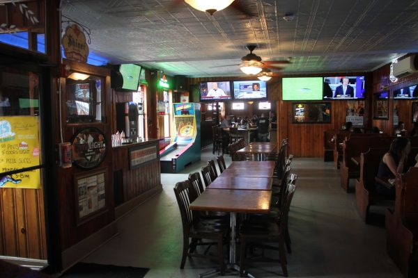 interior of The Olive Branch Bar, New Brunswick, NJ