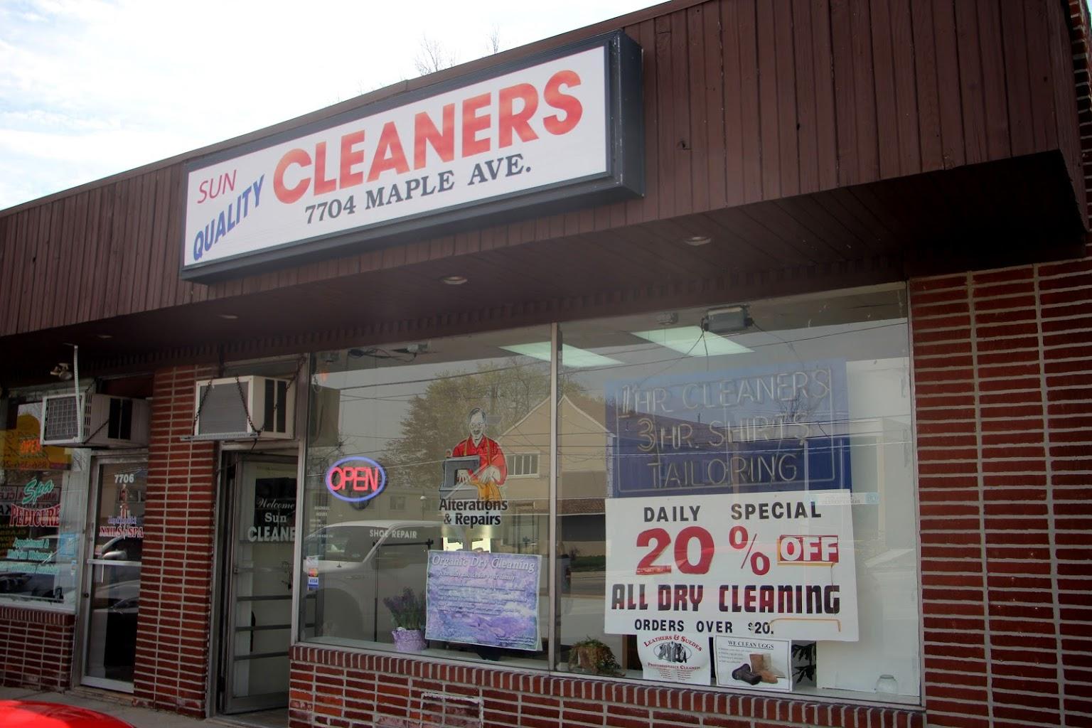 store front Sun Quality Cleaners Pennsauken, NJ