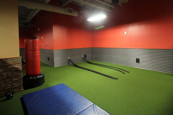 battling ropes Club Metro Jersey City Fitness Gym, Jersey City, NJ