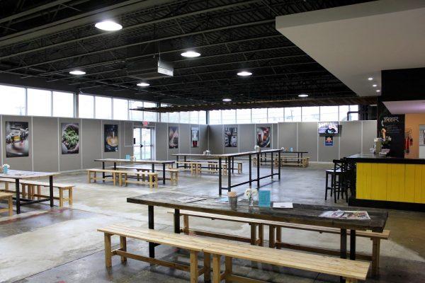 beer tasting room Flying Fish Brewing Co, Somerdale, NJ