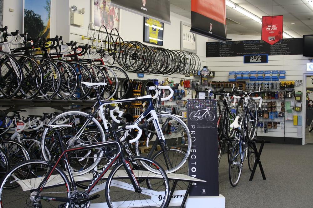 bikes Danzeisen & Quigley Sporting Goods Store, Bicycle Shop, Cherry Hill, NJ