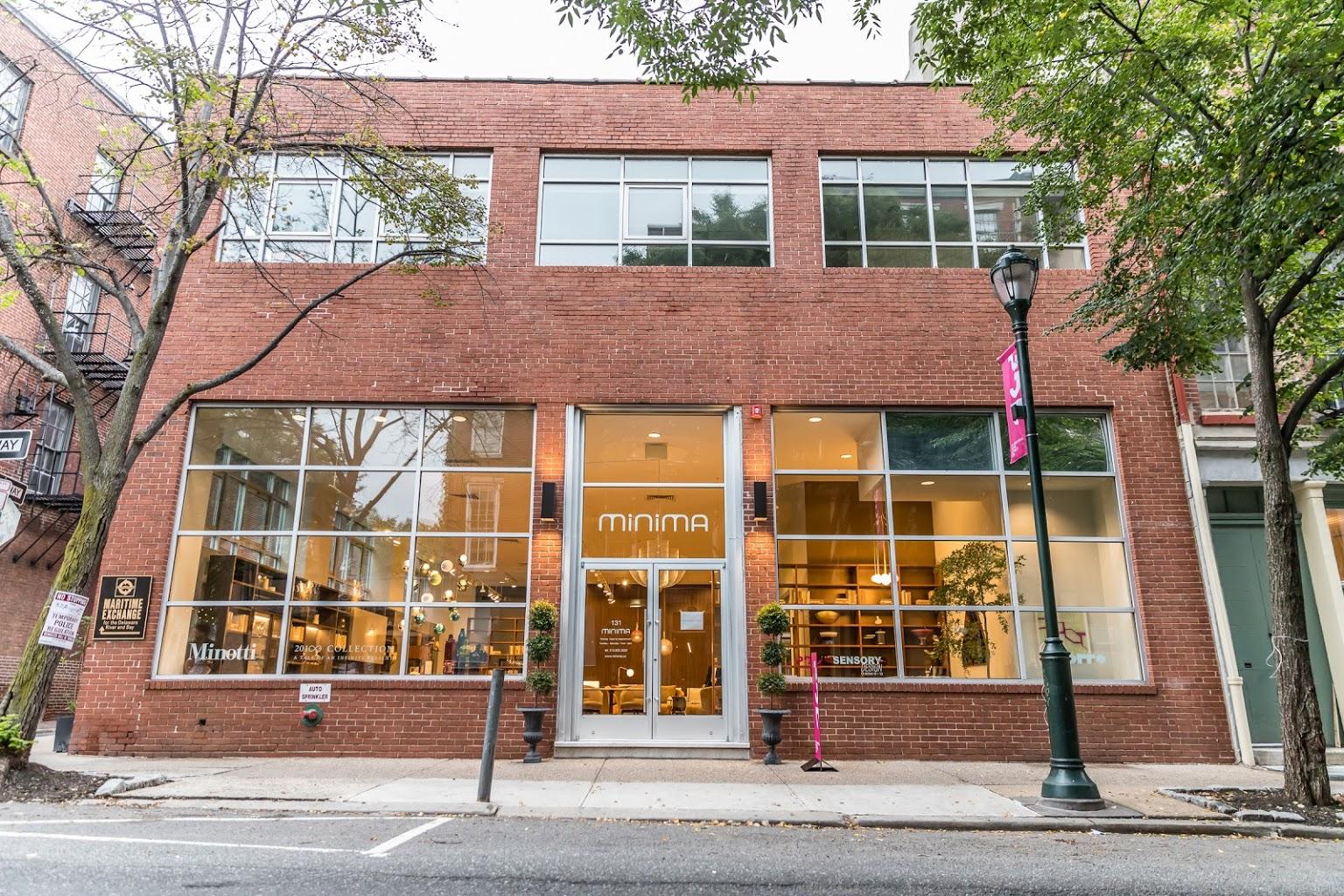 building exterior Minima high end contemporary furniture Philadelphia PA