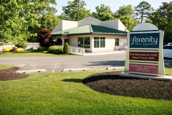 building of Dental Office Serenity Smile Designs Dentist, Egg Harbor Township, NJ