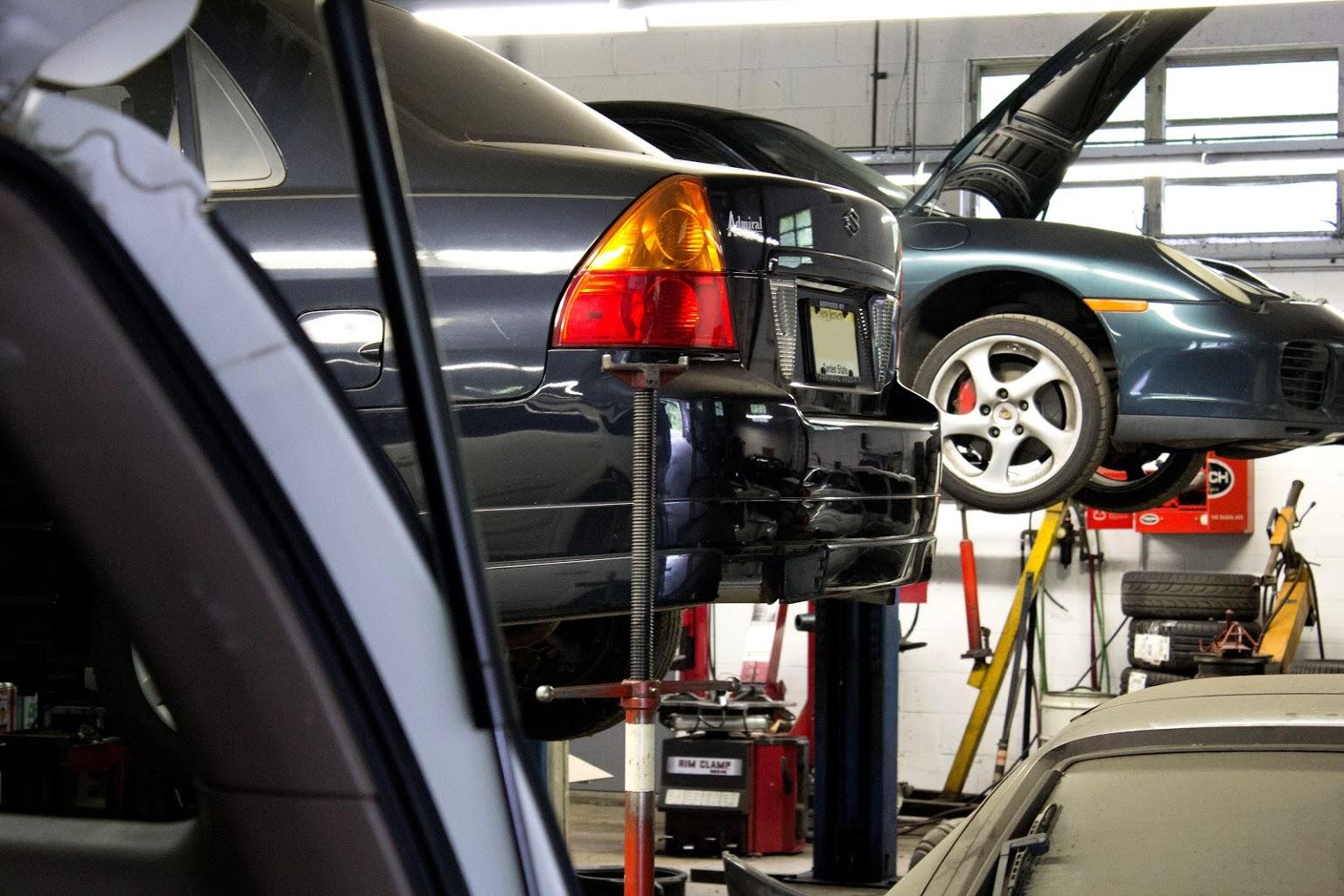 car repairs at I Service Imports LLC Car Repair Shop, Cherry Hill, NJ