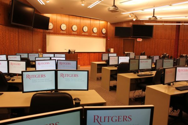 classroom at Rutgers Business School - See-Inside University, Newark, NJ