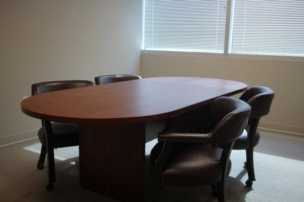 conference table at The Law Office of Mark Bernstein Attorney, Cherry Hill, NJ