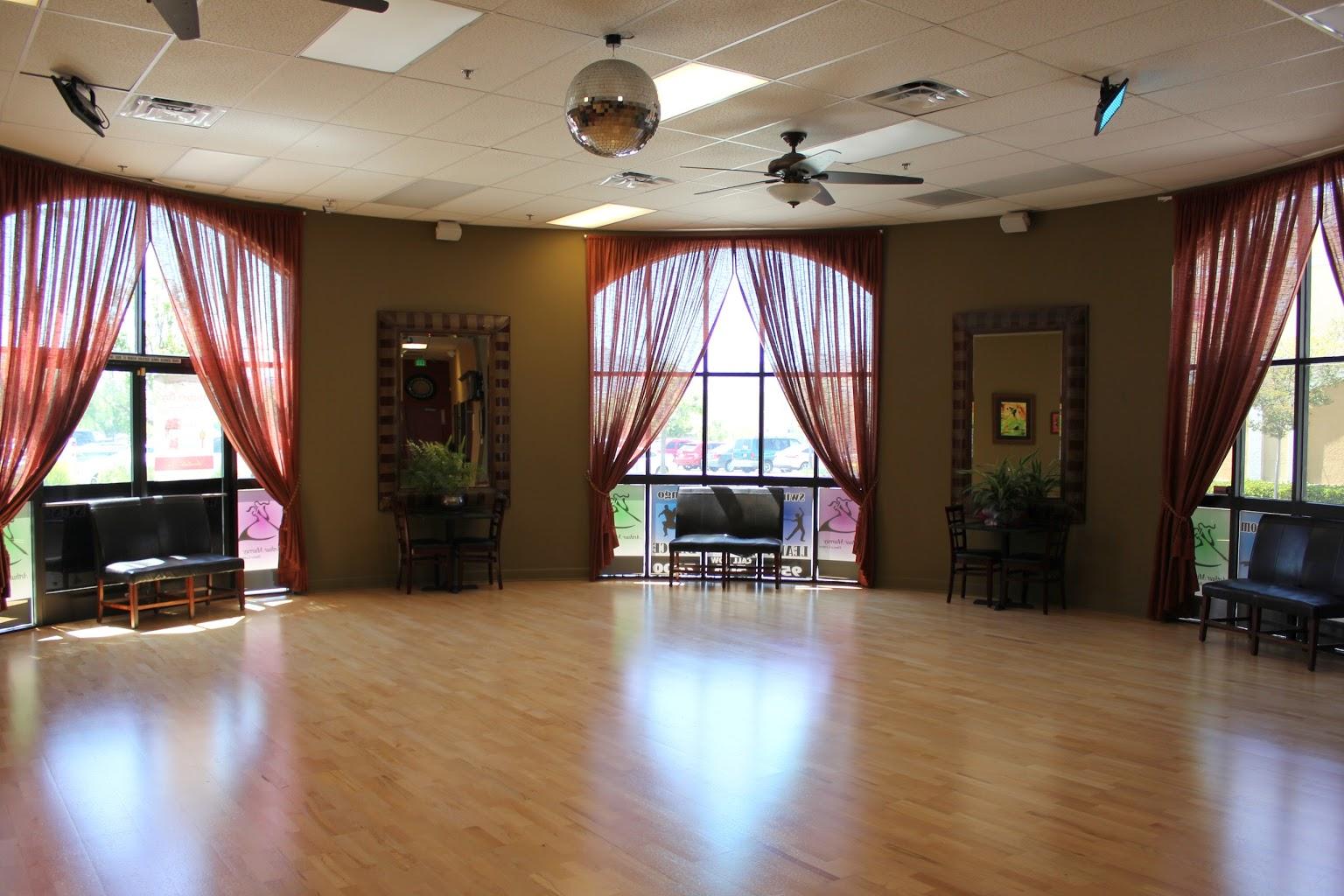 curtains Arthur Murray Dance Studio, Temecula, CA
