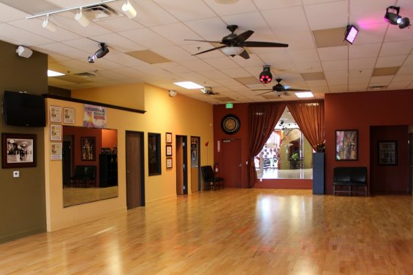 dance floor at Arthur Murray Dance Studio, Temecula, CA