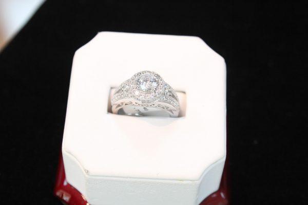 diamond ring at Taunton Jewelers, Medford, NJ