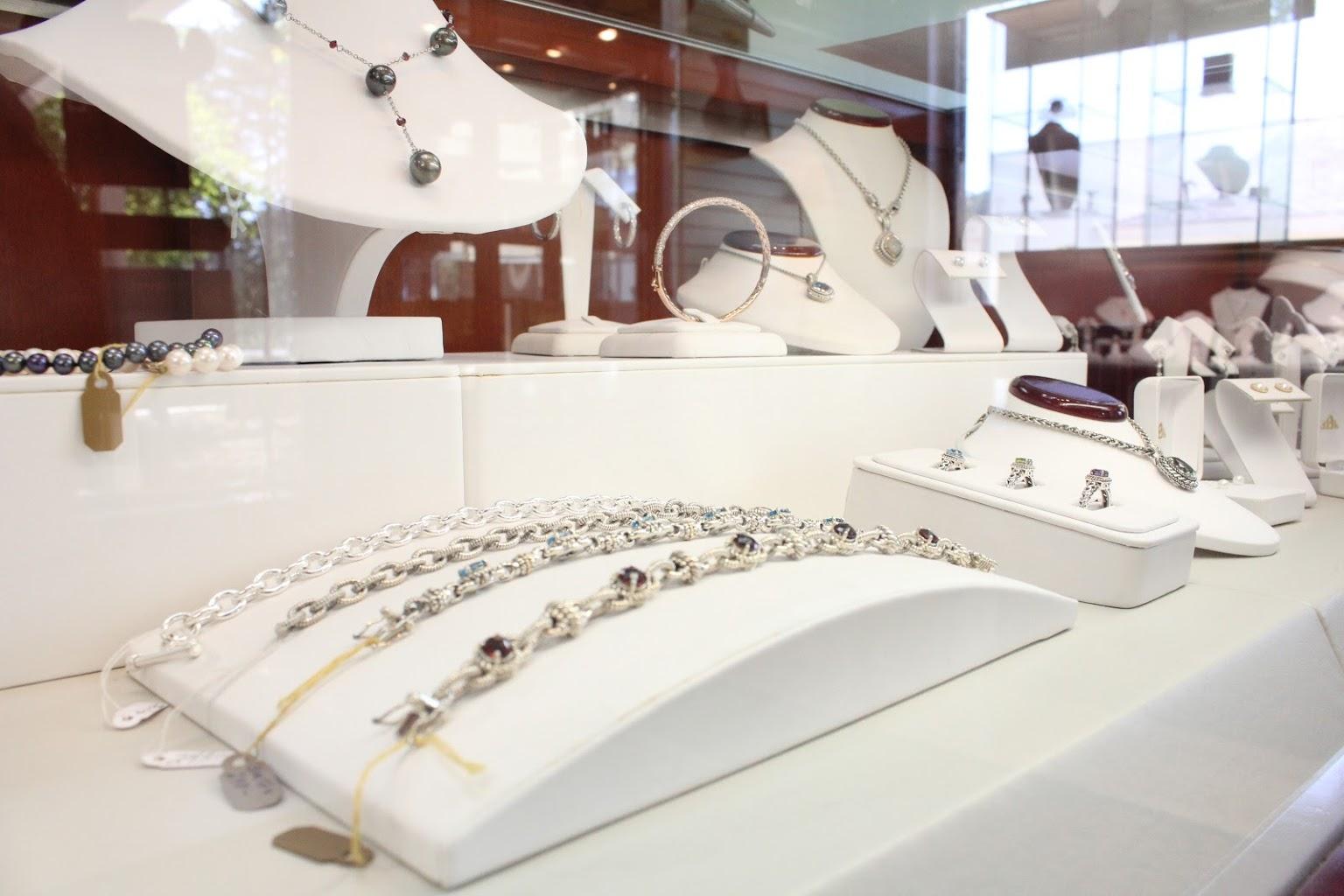 display at Taunton Jewelers, Medford, NJ
