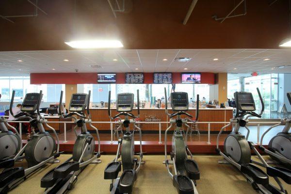 ellipticals Club Metro Jersey City Fitness Gym, Jersey City, NJ