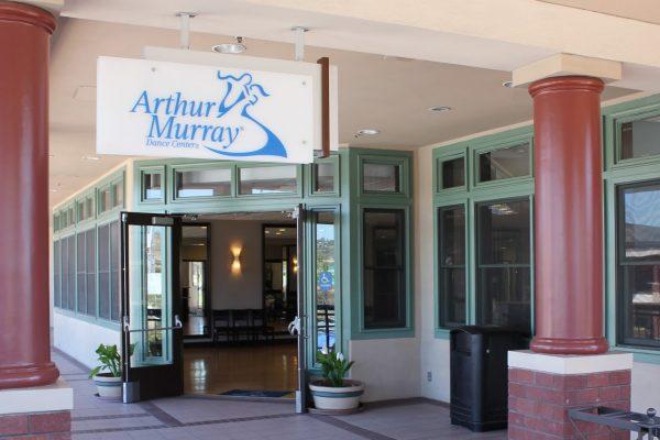 entrance to Arthur Murray Dance Studio, San Diego, CA