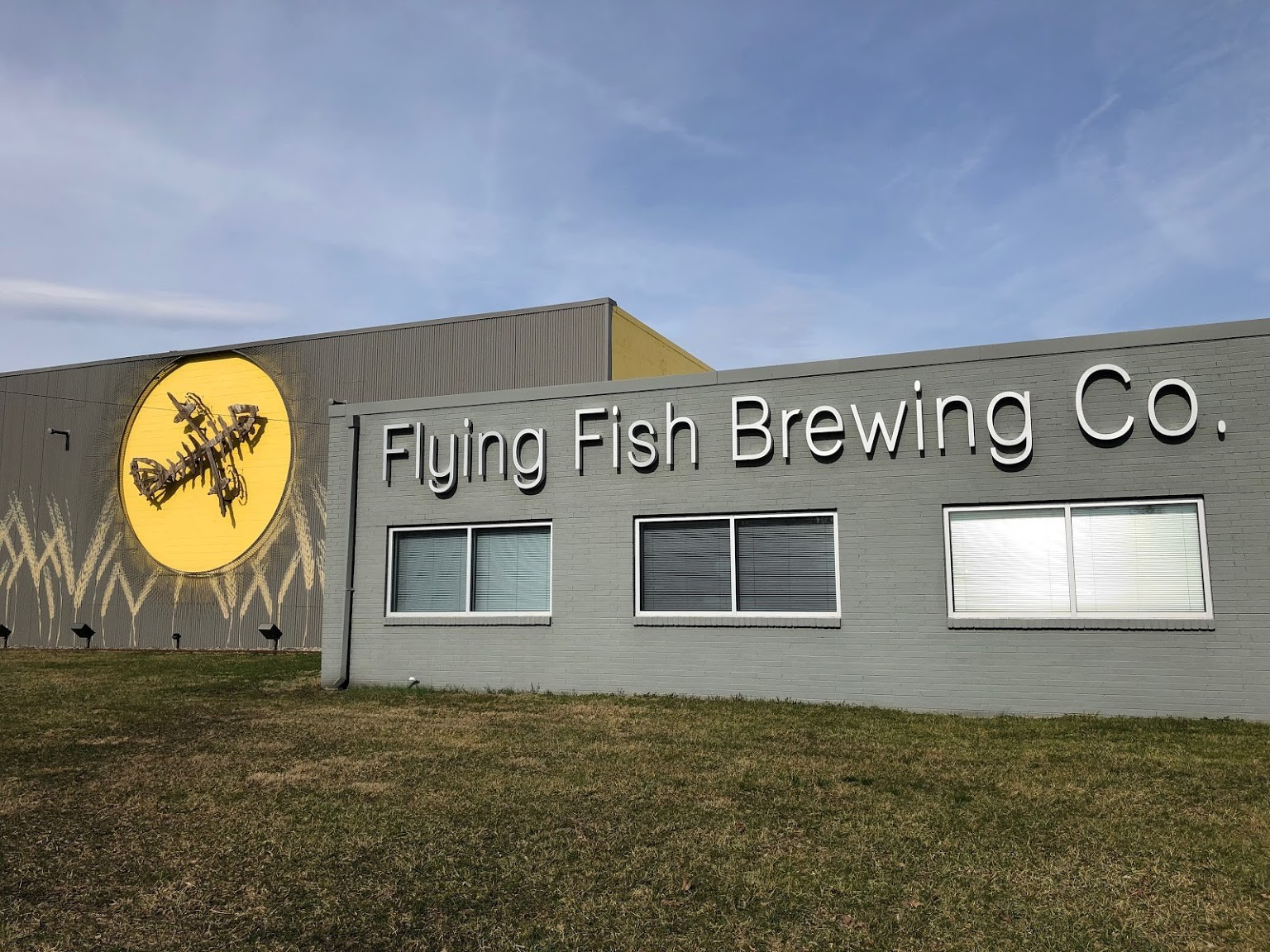 exterior Flying Fish Brewing Co, Somerdale, NJ
