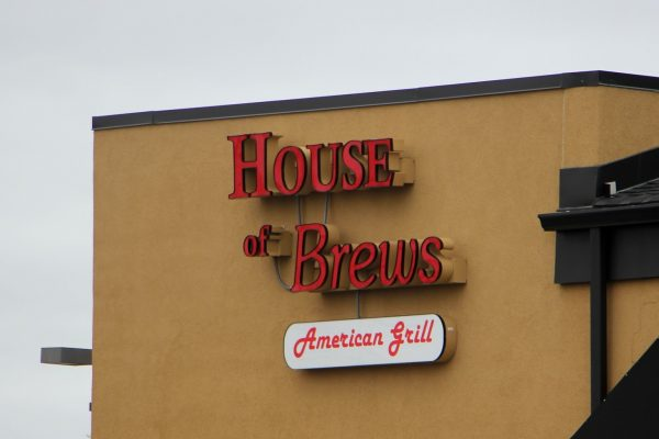 exterior sign House of Brews American Grill Turnersville, NJ