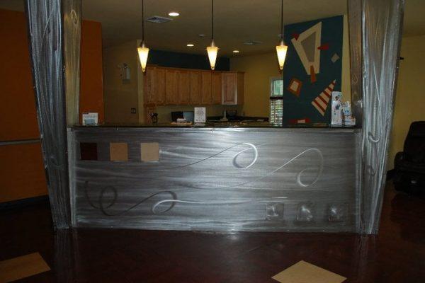 front desk of Dental Office Serenity Smile Designs Dentist, Egg Harbor Township, NJ