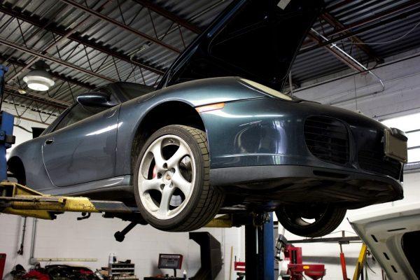 green porsche I Service Imports LLC Car Repair Shop, Cherry Hill, NJ