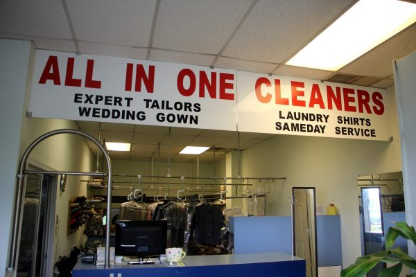 interior of All In One Cleaners, Cherry Hill, NJ