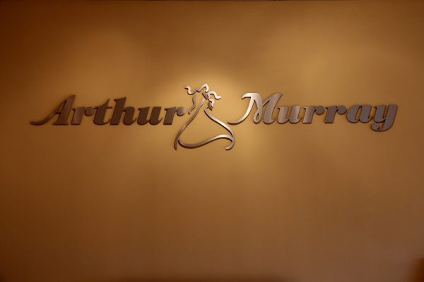 logo sign of Arthur Murray Roxbury Dance Studio, Ledgewood, NJ