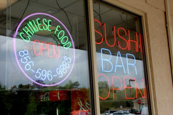 neon signs at King Wong Chinese Restaurant, Marlton, NJ.jpg